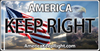 America Keep Right Logo