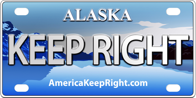 Alaska Keep Right Logo