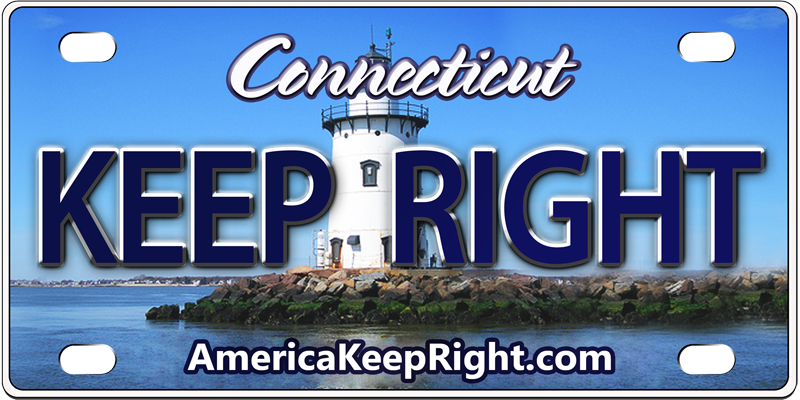 Connecticut Keep Right Logo