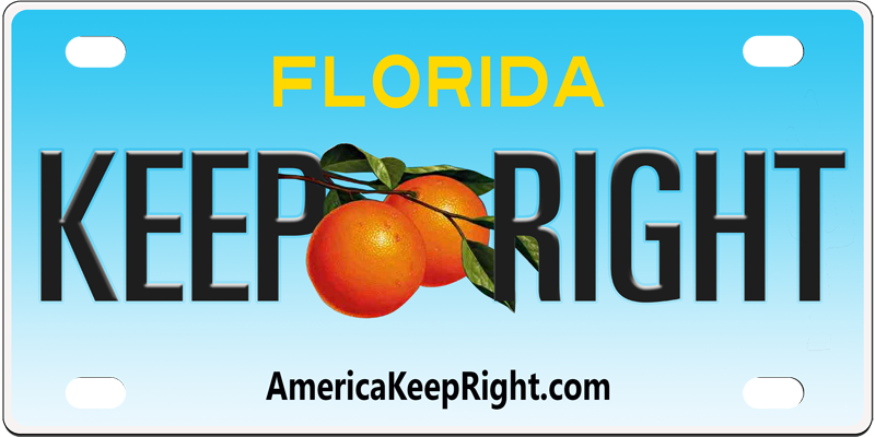 Florida Keep Right Logo