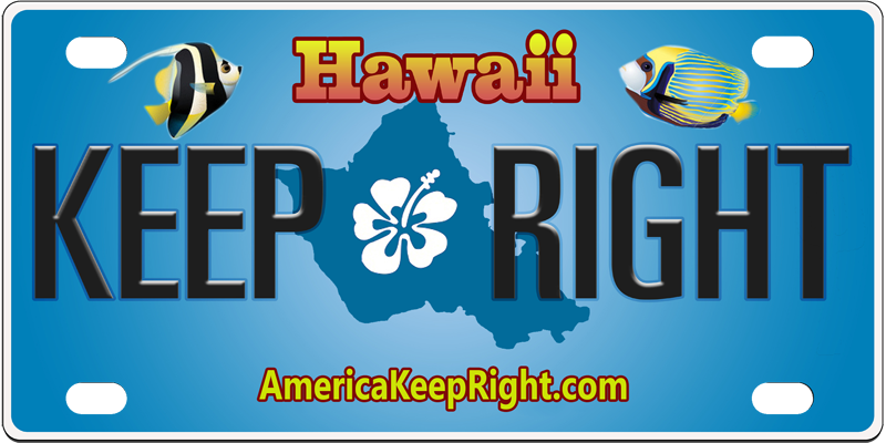 Hawaii Keep Right Logo