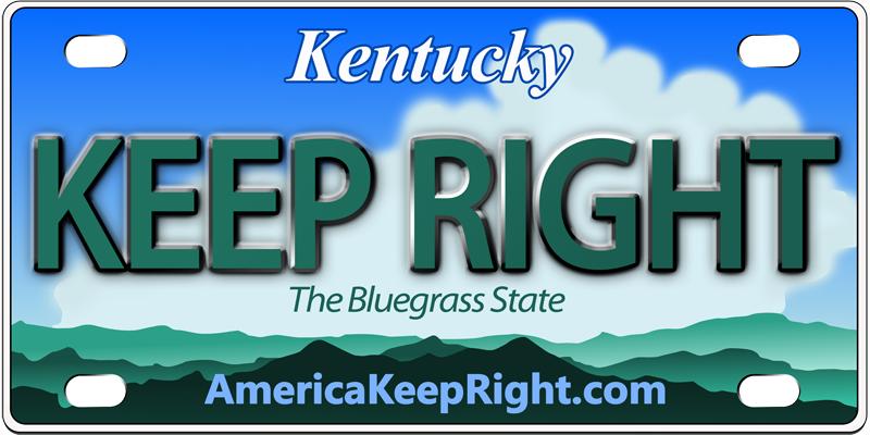 Kentucky Keep Right Logo