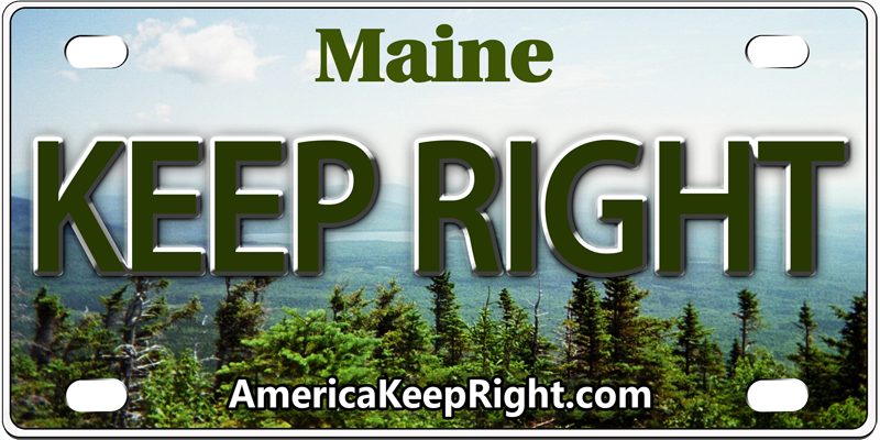 Maine Keep Right Logo