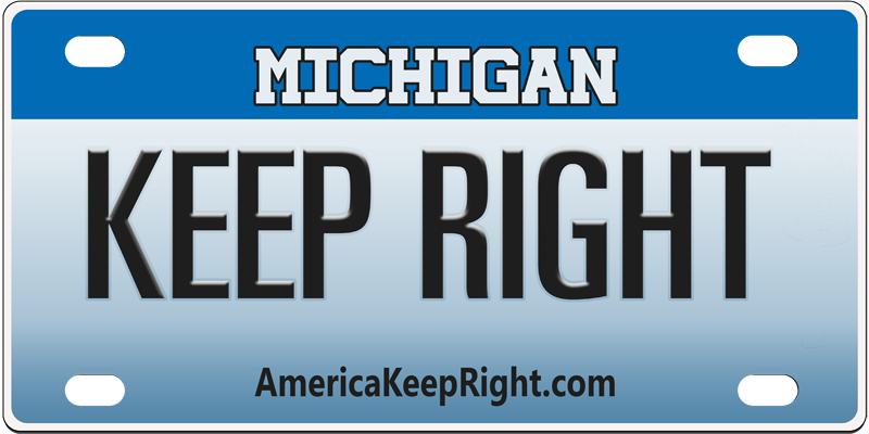 Michigan Keep Right Logo
