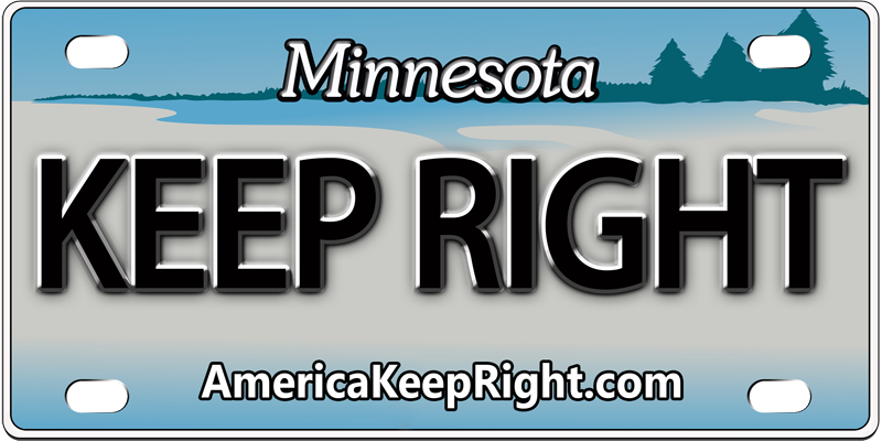 Minnesota Keep Right Logo