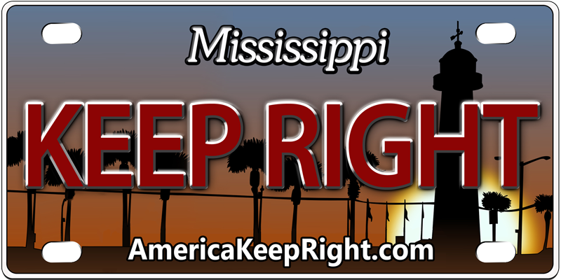 Mississippi Keep Right Logo