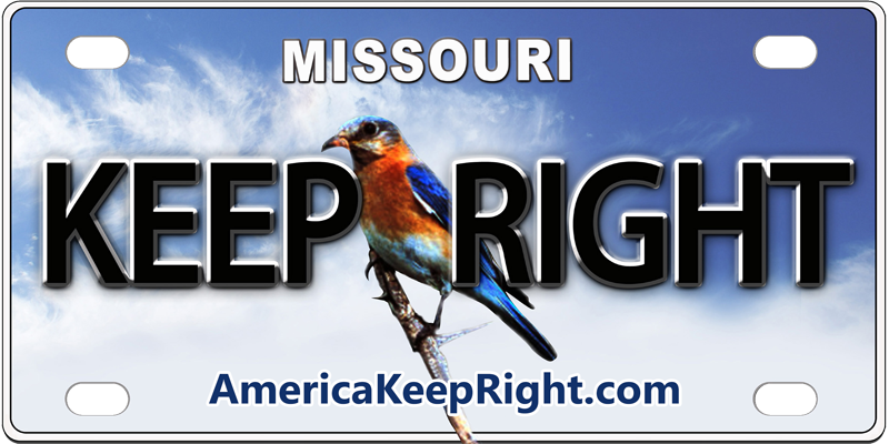 Missouri Keep Right Logo