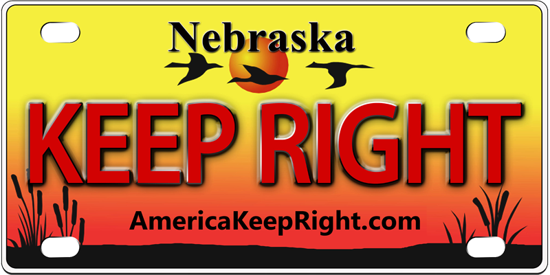 Nebraska Keep Right Logo