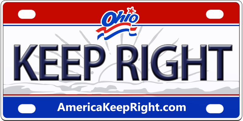 Ohio Keep Right Logo