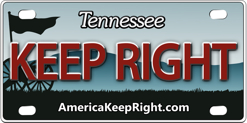 Tennessee Keep Right Logo